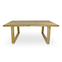 Naples Reclaimed Contemporary Scandinavian Dining Table