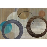 Cosmic Orbit I Canvas Wall Art