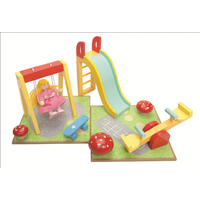 Le Toy Van Outdoor Playset with Swing