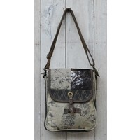 Cowhide And Canvas Patchwork H  (NEW COLLECTION)