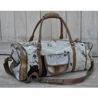 Cowhide Overnight Bag  (NEW COLLECTION)