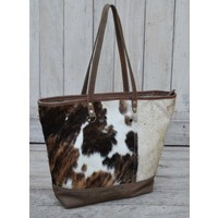 Cowhide Boat Handbag  (NEW COLLECTION)