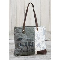 Floral Canvas Hand Bag  (NEW COLLECTION)