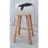 Cowhide Bar Stool  (NEW COLLECTION)