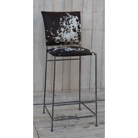 Dark Cowhide Bar Seat  (NEW COLLECTION)