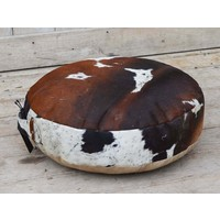 Round Cowhide Cushion  (NEW COLLECTION)