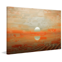 Bir Anzarene Canvas Wall Art