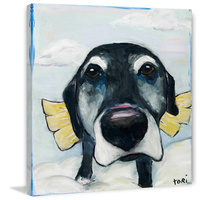 All Good Dogs Canvas Wall Art