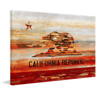Cali Canvas Art Print