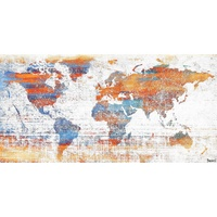 Warm World Canvas Wall Art