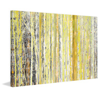 Aspen Forest 2 Canvas Wall Art