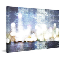 City Scape Canvas Wall Art