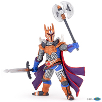 Papo Silver Knight With Battle Axe