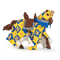Papo Blue Medieval Horse