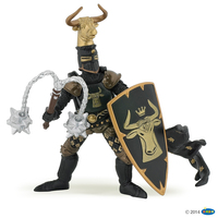 Papo Knight Bull Black And Gold
