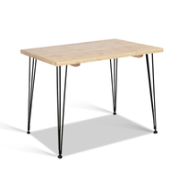 Artiss 6 Seater Wooden Dining Table