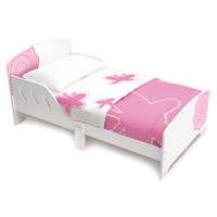 P'kolino Classically Cool Toddler Bed - Flower Blossom