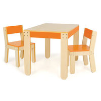 P'kolino Little Ones Modern Kids Tables and chairs (orange)