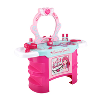 Keezi Kids Makeup Desk Play Set - Pink