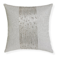Shitake - 45x45cm Applique & Embroidered cushion by Rapee [Colour: Grey]