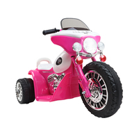 Rigo Kids Ride On Motorcycle Motorbike Car Harley Style Electric Toy Police Bike