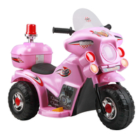 Kids Ride On Motorbike -Pink