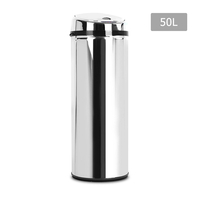 Stainless Steel Motion Sensor Rubbish Bin – 50L