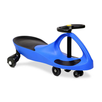 Keezi Kids Ride On Swing Car - Blue