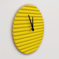 WaveCLOCK – Ceramic Clock by Sabrina Fossi