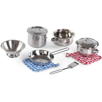 Cooking Essentials 10pc Stainless Steel Set