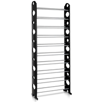 10 Tiers Stackable Shoe Storage Rack 155CM