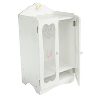 Little Princess 45cm Doll Furniture - Classic Closet with Hangers