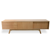 Ella TV Entertainment Unit - Lowline - Natural Veneer