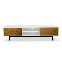 Blake TV Entertainment Unit - Lowline - Walnut