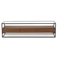 Norman 1.5m Entertainment TV Unit in Walnut