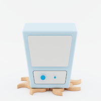 Ms. Finger - Mobelebt Cubanimals Nightstand