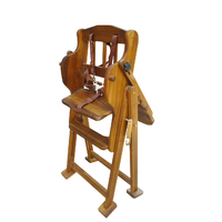 Adjustable/Hi Lo High Chair (Acacia)