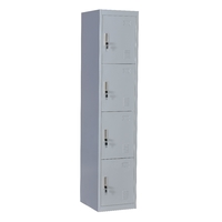 4 Door Locker - Office/Gym
