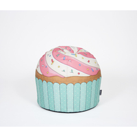 Woouf Bean Bag - Cupcake Blue - 45cm x 43cm, unfilled