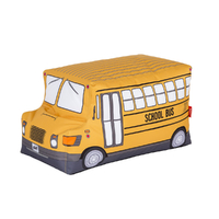 Woouf Bean Bag - School Bus