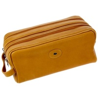 Hans Kniebes Munich - Cowhide Premium Leather toiletry bag zip