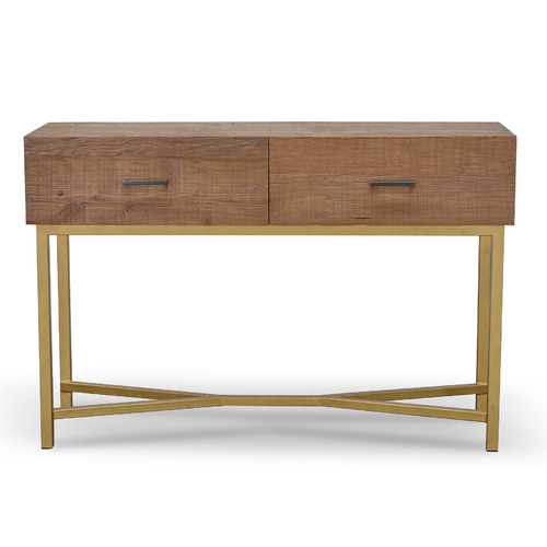 Royce 1.2m Reclaimed Pine Console Table