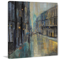 Metro Lights I Canvas Wall Art