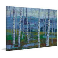 Twilight Grove I Canvas Wall Art