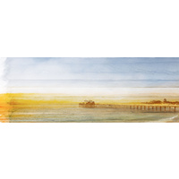 Malibu Pier Canvas Wall Art