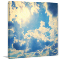 Clouds Canvas Wall Art