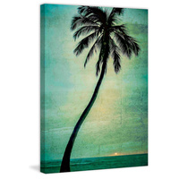Lone Palm Canvas Art Print