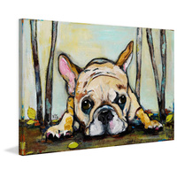 Smushy Canvas Wall Art
