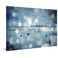 Hanging Out 2 Canvas Wall Art