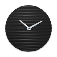 WaveCLOCK Black (white minute hand)